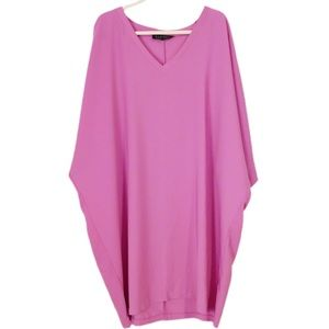 ELOQUII FUCHSIA SHIFT DRESS SIZE 18/20